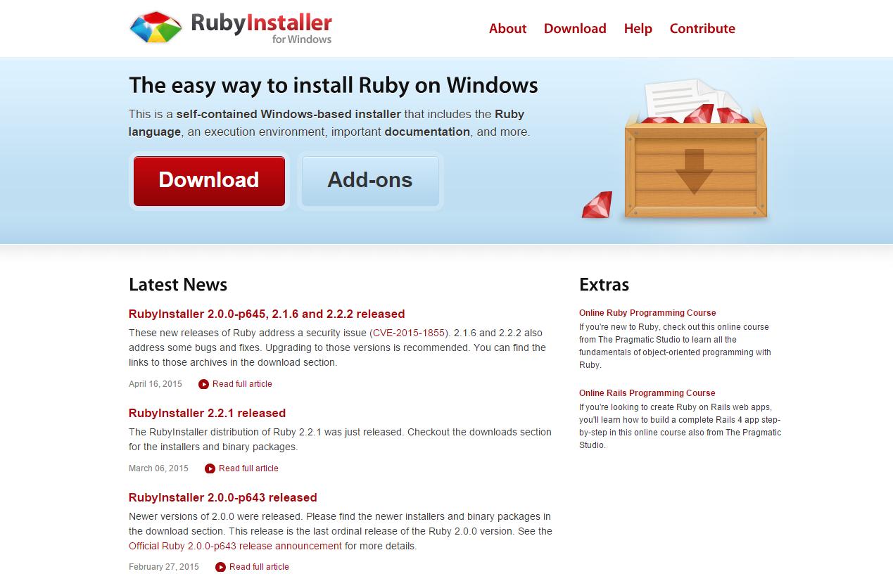 ruby_installer